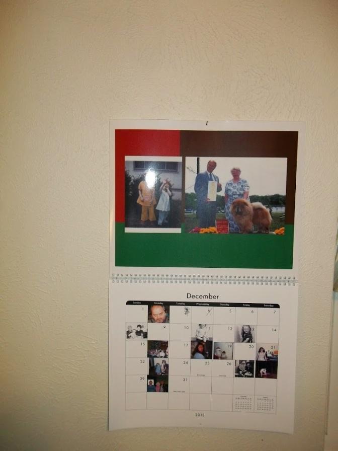 12232012 Personalized Calendars