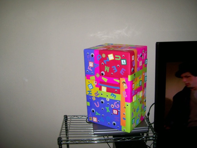 07052013 Make a Kids Day – Making Hand-Painted Boxes