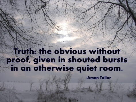 shouted truth