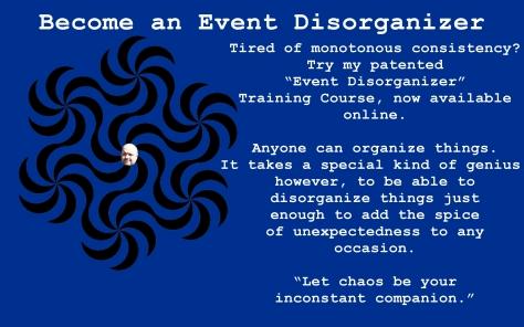 event disorganizer