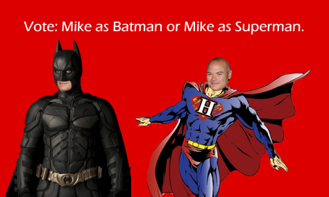 mike as batman vs superman