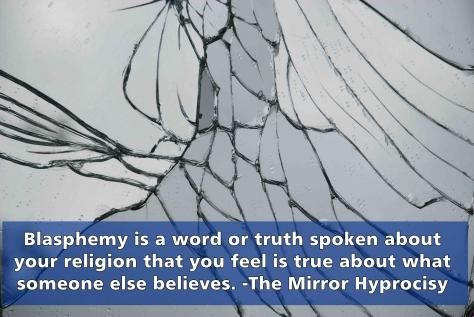 the mirror hyprocrisy