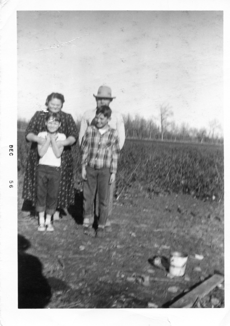 Harold Cook Carolyn Cook William and Nellie Cook 1956