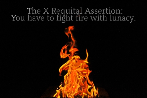 x requital assertion